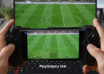 To pillar PC games to their Galaxy telephone , Samsung's PlayGalaxy Link is another approach
